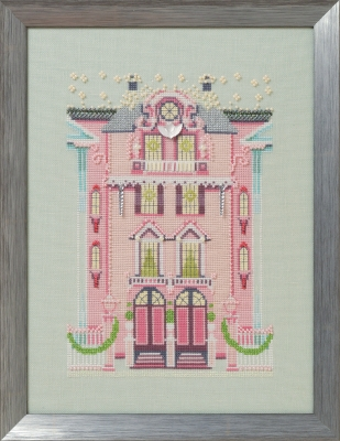 click here to view larger image of Pink Edwardian House, The (chart)