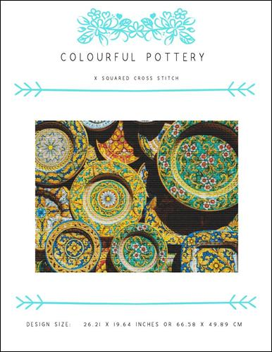 click here to view larger image of Colourful Pottery (chart)