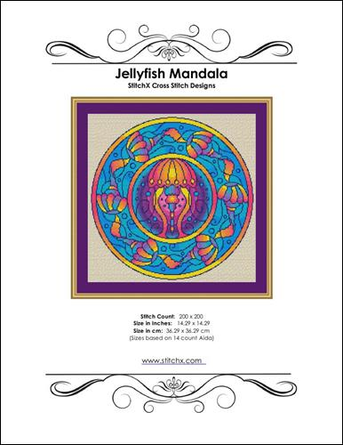 click here to view larger image of Jellyfish Mandala (chart)