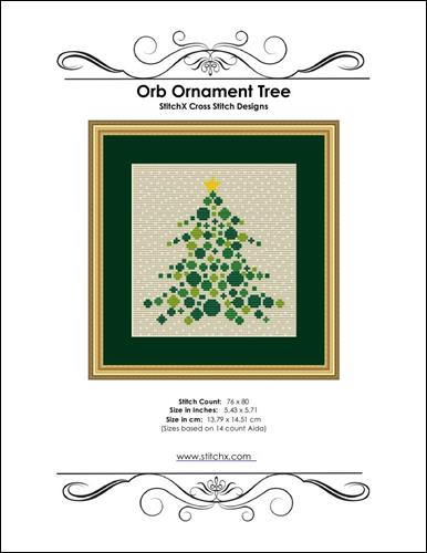 click here to view larger image of Orb Ornament Tree  (chart)