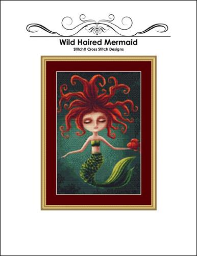click here to view larger image of Wild Haired Mermaid (chart)