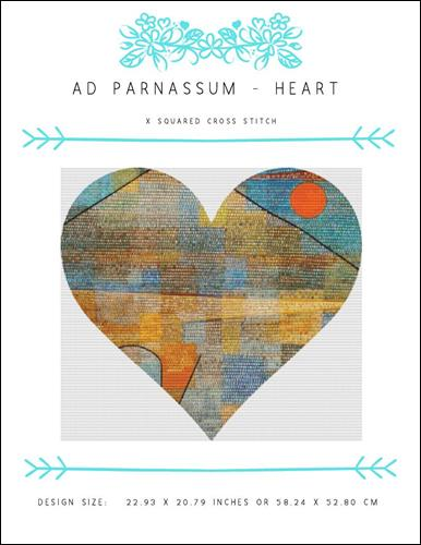 click here to view larger image of Ad Parnassum Heart (chart)