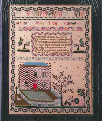 click here to view larger image of Mary Otter 1792 Sampler Reproduction (chart)