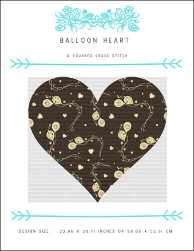 click here to view larger image of Balloon Heart (chart)
