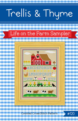 click here to view larger image of Life On The Farm Sampler (chart)