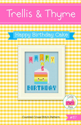click here to view larger image of Happy Birthday Cake (chart)
