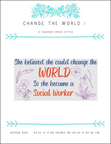 click here to view larger image of Change The World I (chart)