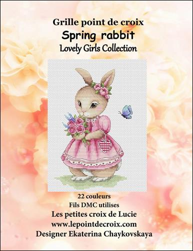click here to view larger image of Spring Rabbit (chart)