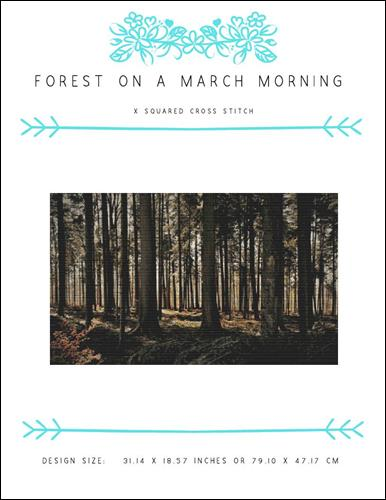 click here to view larger image of Forest on a March Morning (chart)