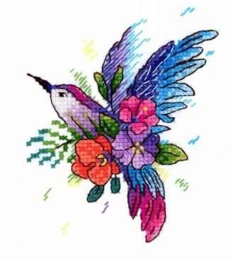 click here to view larger image of Bird of Paradise (counted cross stitch kit)