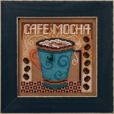click here to view larger image of Cafe Mocha (2020) (counted cross stitch kit)