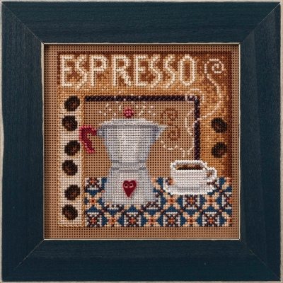 click here to view larger image of Espresso (2020) (counted cross stitch kit)