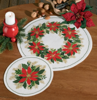 click here to view larger image of Christmas Stars (bottom) (counted cross stitch kit)