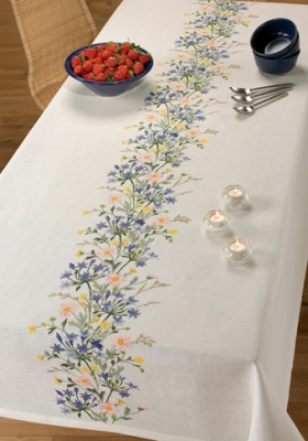 click here to view larger image of Bronvalla Table Cloth (counted cross stitch kit)