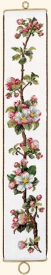 click here to view larger image of Apple Branch (counted cross stitch kit)