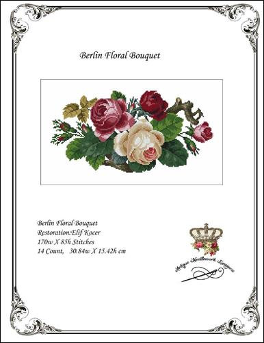 click here to view larger image of Berlin Floral Bouquet (chart)