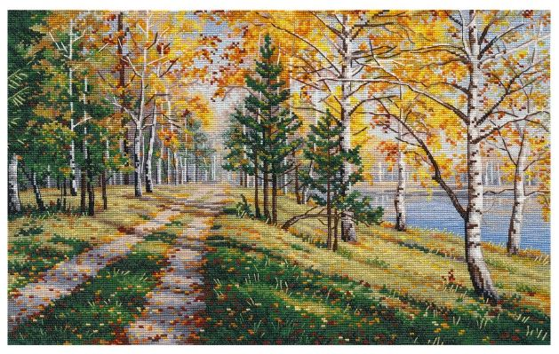 click here to view larger image of Autumn Season (counted cross stitch kit)