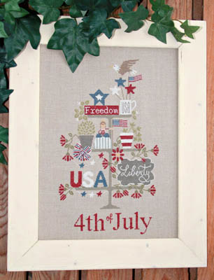 click here to view larger image of Celebrate 4th July (chart)