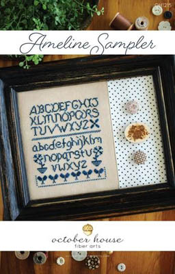 click here to view larger image of Ameline Sampler (chart)