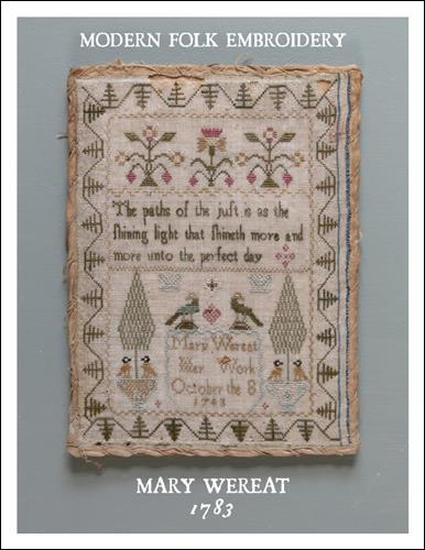 click here to view larger image of Mary Wereat 1783 (chart)