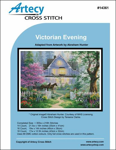 click here to view larger image of Victorian Evening (chart)