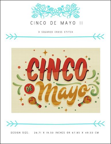 click here to view larger image of Cinco De Mayo II (chart)