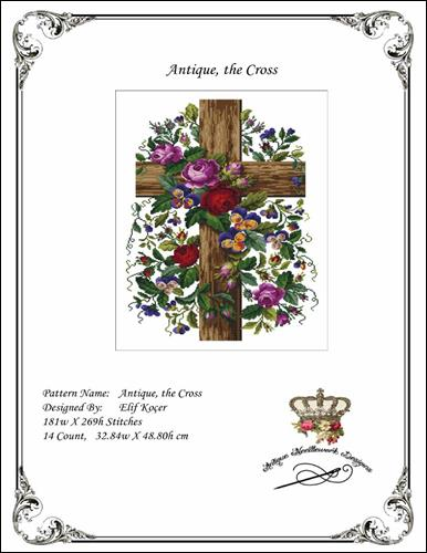 click here to view larger image of Antique the Cross (chart)