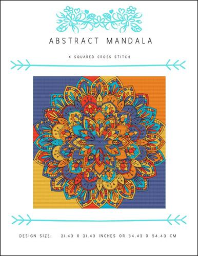 click here to view larger image of Abstract Mandala (chart)