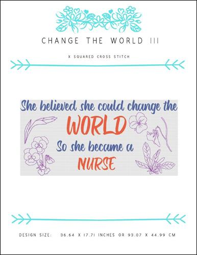 click here to view larger image of Change the World III (chart)
