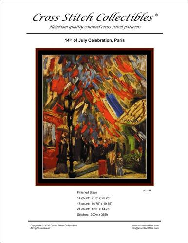 click here to view larger image of 14th of July Celebration Paris (Vincent Van Gogh) (chart)
