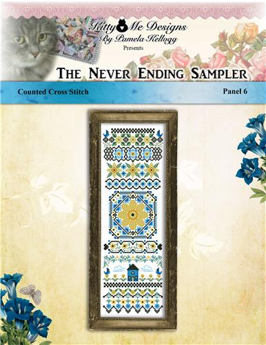 click here to view larger image of Never Ending Sampler Panel 6 (chart)