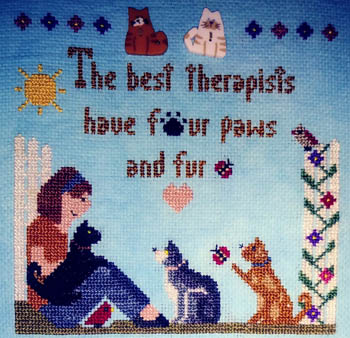 click here to view larger image of Best Therapists - Cats (chart)