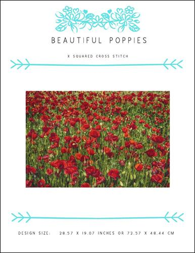 click here to view larger image of Beautiful Poppies (chart)
