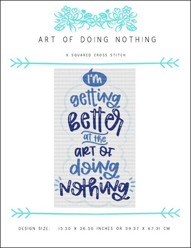 click here to view larger image of Art of Doing Nothing (chart)