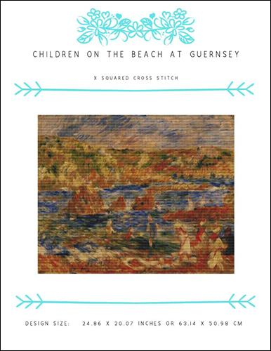 click here to view larger image of Children on the Beach at Guernsey (chart)