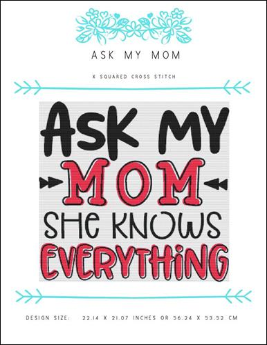 click here to view larger image of Ask My Mom (chart)