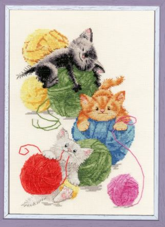 click here to view larger image of Balls (counted cross stitch kit)