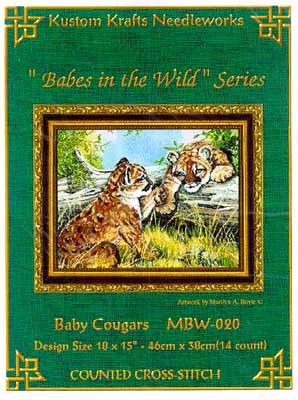 click here to view larger image of Baby Cougars (chart)