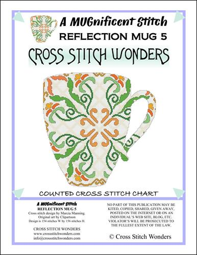 click here to view larger image of MUGnificent Stitch, A - Reflection Mug 5  (chart)