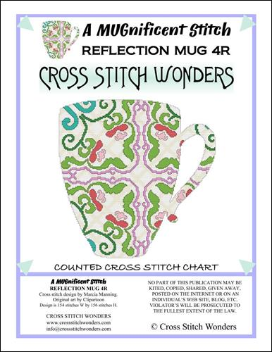 click here to view larger image of MUGnificent Stitch, A - Reflection Mug 4R  (chart)