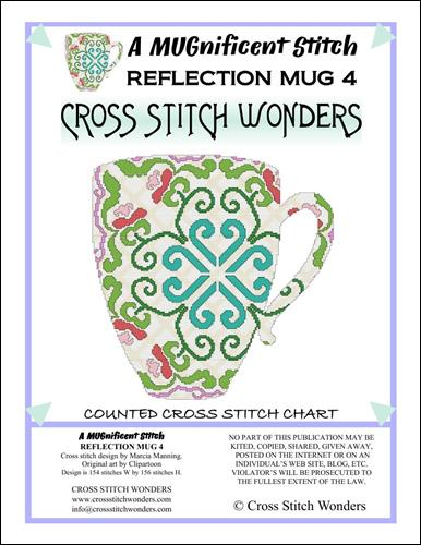 click here to view larger image of MUGnificent Stitch, A - Reflection Mug 4  (chart)