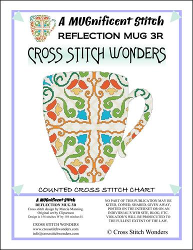 click here to view larger image of MUGnificent Stitch, A - Reflection Mug 3R (chart)