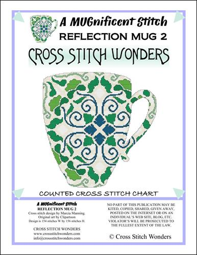 click here to view larger image of MUGnificent Stitch, A - Reflection Mug 2 (chart)