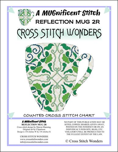 click here to view larger image of MUGnificent Stitch, A - Reflection Mug 2R (chart)