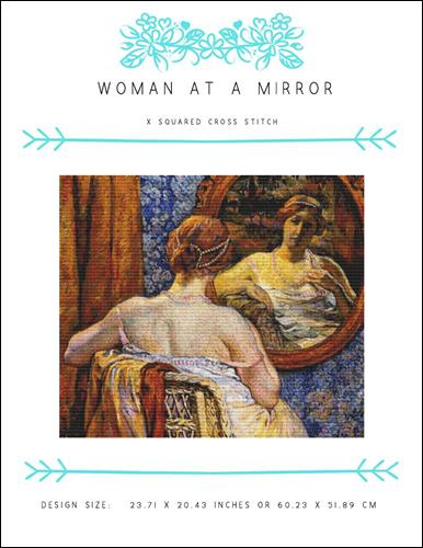 click here to view larger image of Woman at a Mirror (chart)