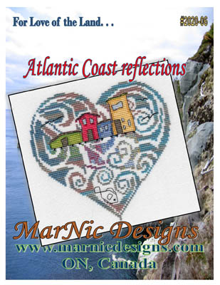 click here to view larger image of Atlantic Coast Reflections (chart)