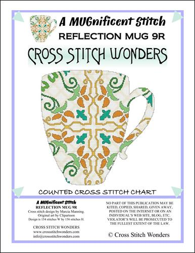 click here to view larger image of MUGnificent Stitch, A - Reflection Mug 9R  (chart)