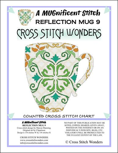 click here to view larger image of MUGnificent Stitch, A - Reflection Mug 9 (chart)