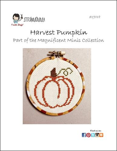 click here to view larger image of Magnificent Minis - Harvest Pumpkin (chart)