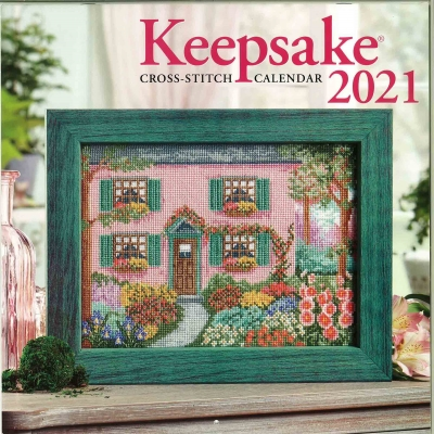 click here to view larger image of Cross Stitch and Needlework 2021 Keepsake Calendar (chart)